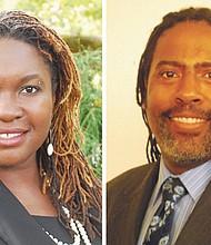 Nkenge Harmon Johnson and Erious Johnson Jr.