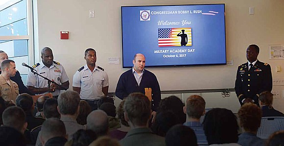 United States Congressman Bobby L. Rush recently hosted his first Congressional District Military Academy Day and informed students and parents ...