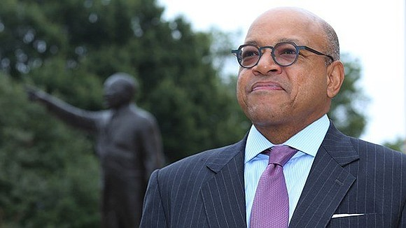 The president of Morehouse College is tackling his freshman year in an unusual way.