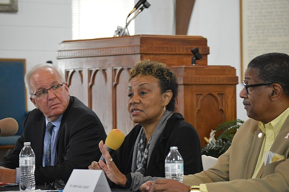 "'We never get it right enough to stop changing,' said Beverly ""BJ"" Walker in Joliet on Tuesday."