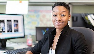 Kristen Ransom, founder and CEO of IncluDe software development and digital design agency.
