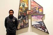 """Nygel Jones' """"Debut & Departing"""" is on display at the Museum of the NCAAA through Jan. 7."""