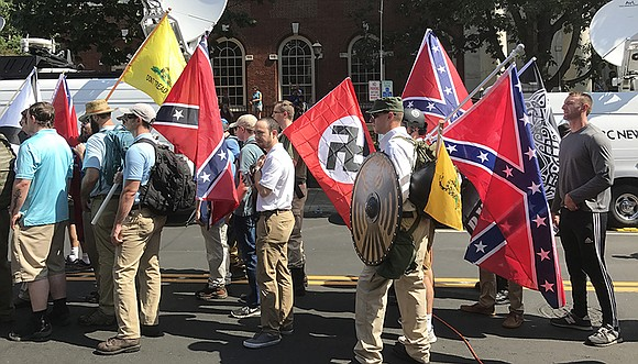 "Aug. 12, 2017, hundreds of white supremacists and their sympathizers gathered for a ""Unite the Right"" rally in Charlottesville, Va., ..."