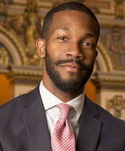 "The first line of Randall Woodfin's official autobiography on his mayoral campaign website is: ""I am a proud son of ..."