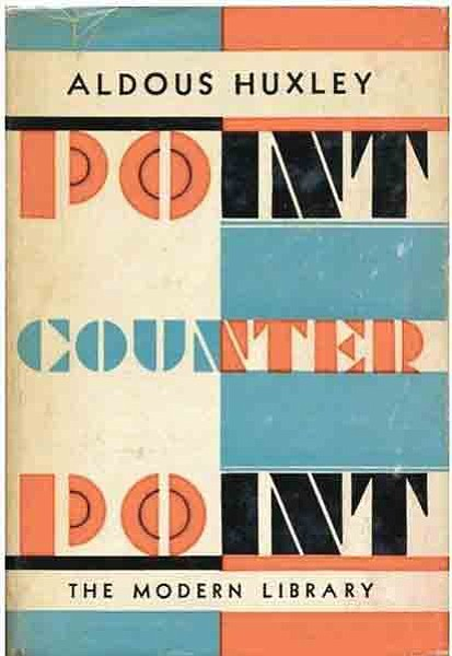 "The Palmdale City Library's Classics Book Club will discuss the book ""Point Counter Point"" by Aldous Huxley.."