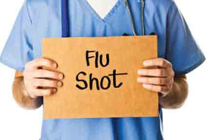 Free flu vaccinations are available from 9-11 a.m. Oct 25...