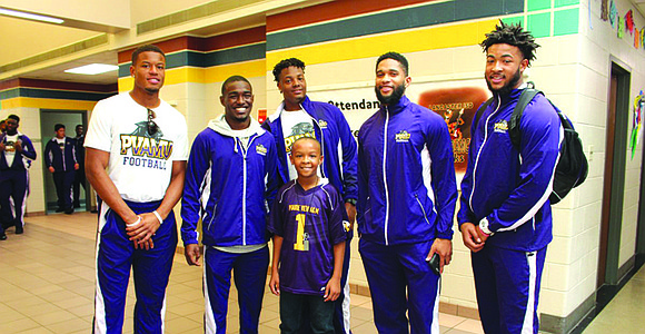 Each year, as the State Fair Classic rolls back around, the Prairie View Panthers pick a Dallas County school campus ...