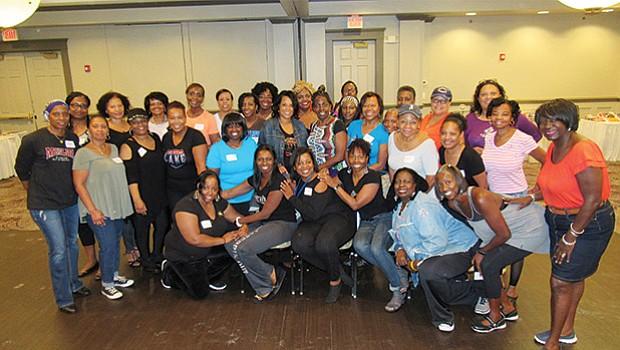 Dance Urban Ladies Styling Workshop Attendees