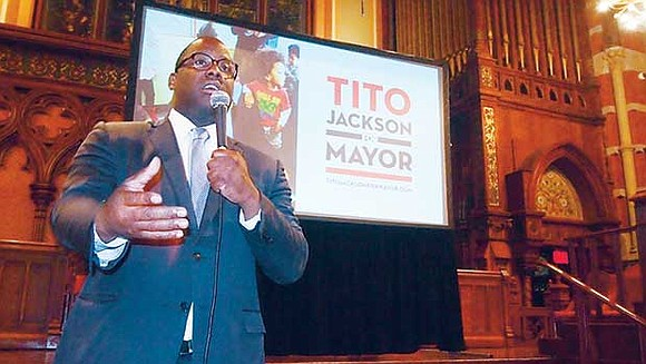 Tito Jackson outlined his mayoral campaign platform during a forum at the Old South Church last week, telling the audience ...