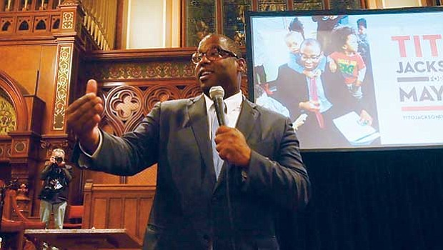 District 7 City Councilor Tito Jackson says he would work to end inequality in Boston if elected mayor.