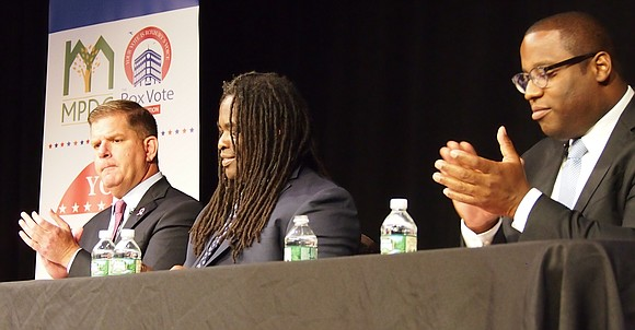 Turned out by the Prince Hall Grand Lodge venue that agreed to host their mayoral forum, organizers of the We ...