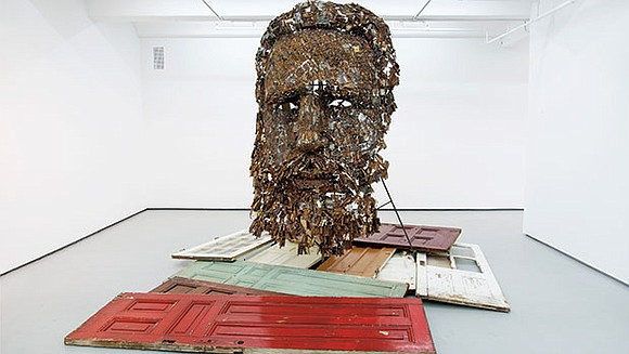 """The Peabody Essex Museum will display their recently acquired sculpture """"Immanence"""" by Cuban artist Yoan Capote, until November 19. The ..."""