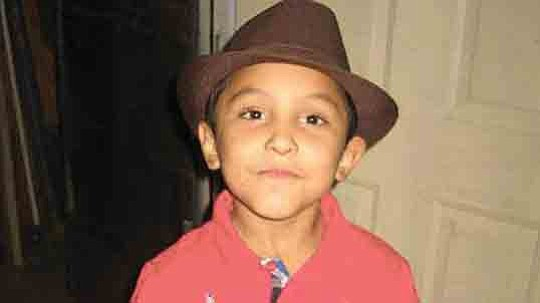 Eight BBs were recovered from the body of an 8-year-old Palmdale boy who had ,,