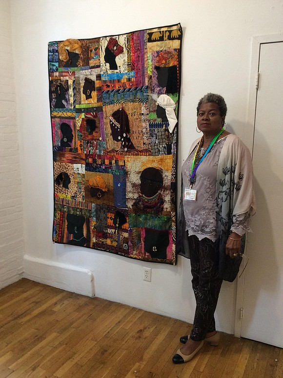 At the Westbeth Gallery at 55 Bethune St., Brooklyn, N.Y., an extraordinary exhibit features beautiful quilt designs. Jacquelynn Jones, a ...