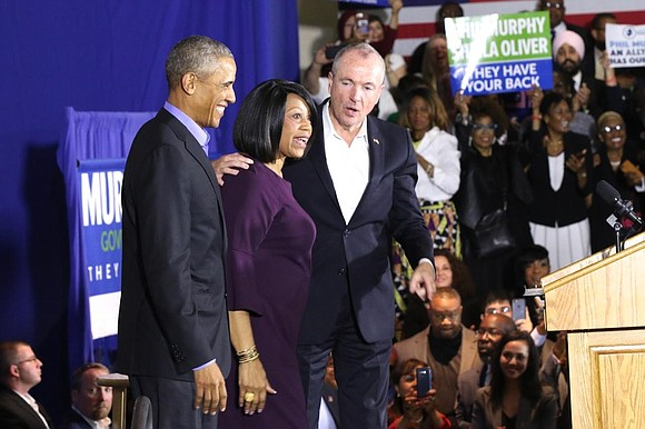 On the heels of a victorious win in the New Jersey gubernatorial race, Democrats Governor-elect Phil Murphy and Lt. Governor-elect ...