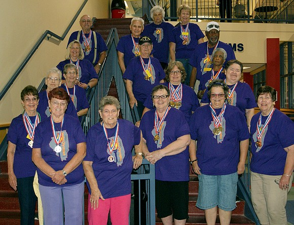 The Romeoville Recreation Department's Golden Age Club had 33 athletes participate in the Illinois Senior Olympics in Springfield this September.