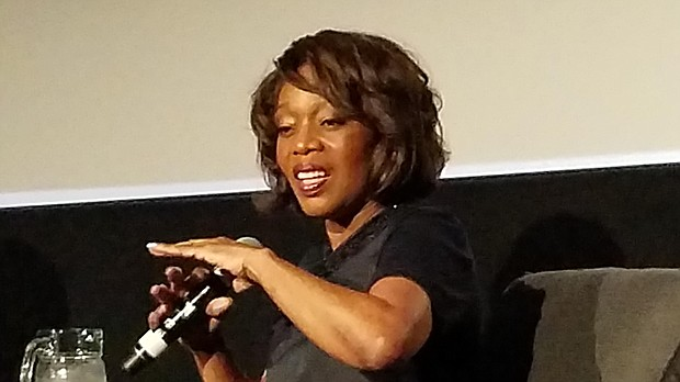 Award winning actress Alfre Woodard received the 53rd Chicago International Film Festival's Career Achievement Award at its Black Perspectives Tribute. The event was hosted by TVs Robin Robinson and featured a conversation with Woodard with award-winning playwright, actress and director Regina Taylor.