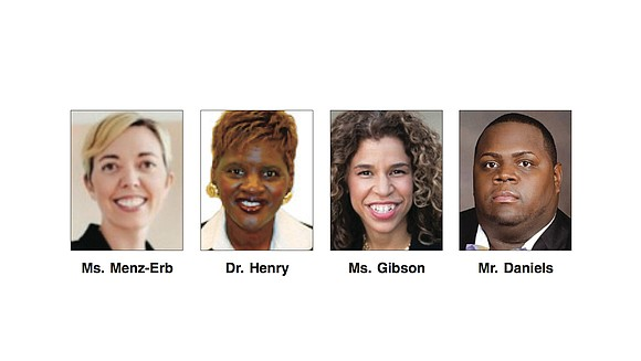 Four candidates are vying for the 3rd District seat on the Richmond School Board. The election is to fill the ...