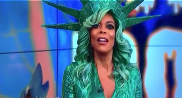 Wendy Williams apparently fainted during a live taping of The Wendy Williams Show on Tuesday.