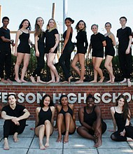 The Jefferson Dancers from the nationally known dance department at Jefferson High School prepare for their annual fundraiser, a 21 and over performance event and dance party, on Saturday, Nov. 4 at the BodyVox Dance Center, downtown.