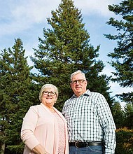 Boston's official 2017 Christmas tree is a 53-foot white spruce tree donated by Bob and Marion Campbell and family of Blues Mills in Inverness County on Cape Breton Island. The tree is due to arrive on the Boston Common November 21.