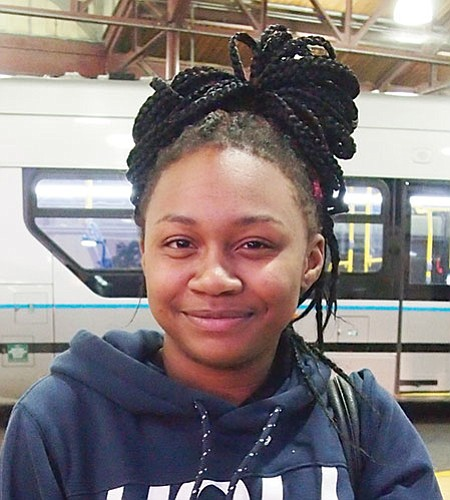 I think they should get help for people who are struggling. More treatment beds instead of leaving people out in the cold.—Brianna Allen-White, Student, Roxbury
