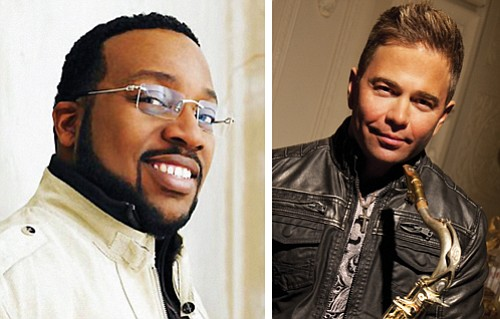 "Gospel artist Marvin Sapp (left) and award-winning Portland jazz musician Patrick Lamb two headliners for the ""Bringing the Love"" gospel and jazz festival."