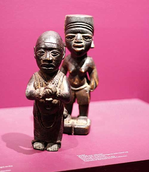 Wole Soyinka's collection, on display at Harvard's Cooper Gallery, features works by