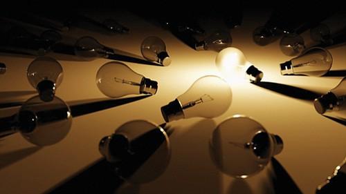 Full spectrum light bulbs may help fight wintertime blues.
