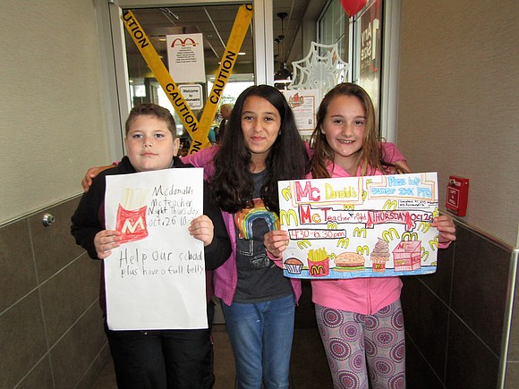 Irene King Elementary School in District 365U held its annual McTeacher's Night on October 26th, at the Romeoville McDonald's and ...