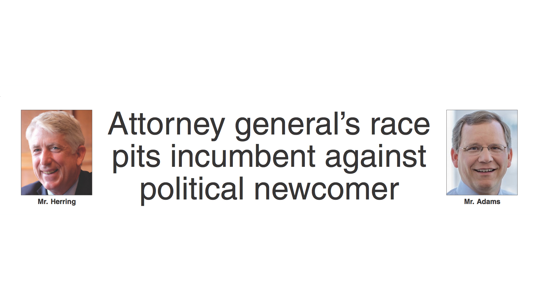 Attorney general's race pits inbent against political ... on tea party of virginia, governor candidate in virginia, recount attorney general virginia,