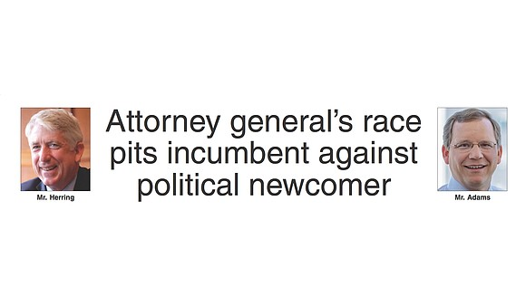 Virginia has the only attorney general race in the country this year, and it has attracted a lot of attention ...