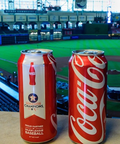 In celebration of the Houston Astros' triumphant 2017 World Series win, Coca-Cola® is giving Astros fans a refreshing way to ...