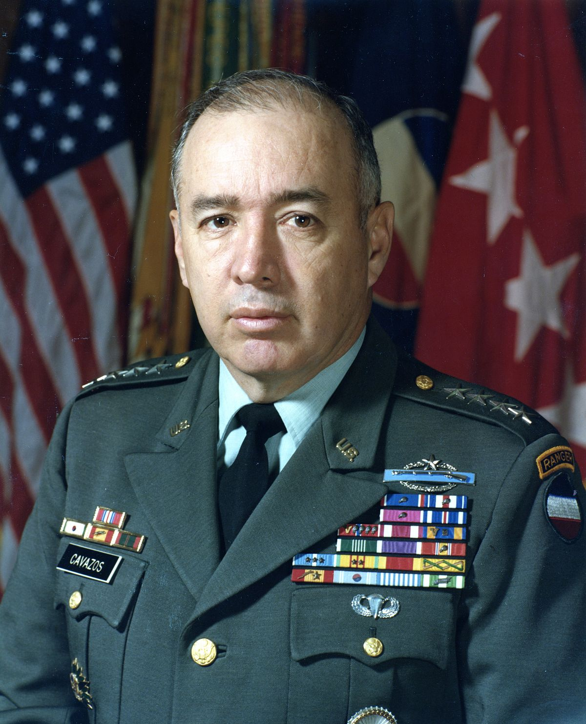 Cavazos The Army S First Hispanic Four Star General Dies
