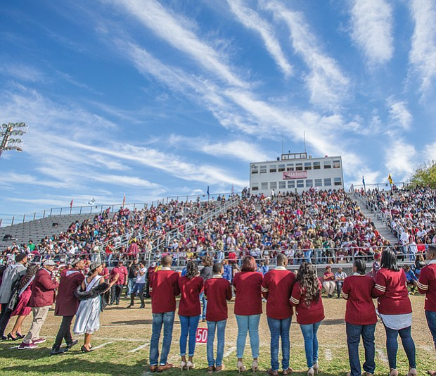 Wild with pride // The Virginia Union University Panthers, alumni and friends celebrate homecoming 2017 with a weekend of events highlighted by last Saturday's football game at Hovey Field.