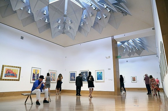 The Director of The Patricia & Phillip Frost Art Museum FIU Jordana Pomeroy welcomed art collectors, cultural luminaries, Univision executives ...