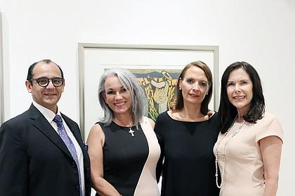 Gabriel Monti, Mima Aubert, Muñeca Fuentes & Lourdes Tudela