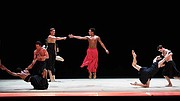 "Boston Ballet in Wayne McGregor's ""Obsidian Tear."""