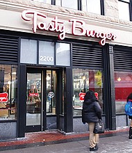 The Tasty Burger and Dudley Dough restaurants in Dudley Square will soon be closing.