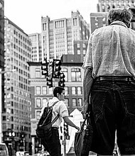 """Jourdan Christopher's """"Strangers in Boston"""" captures the complexity of the city's residents during unguarded moments."""