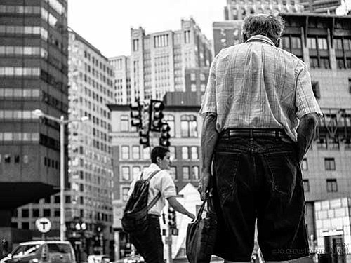"Jourdan Christopher's ""Strangers in Boston"" captures the complexity of the city's residents during unguarded moments."