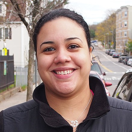 I think a lot of people assume the big changes are in Washington, D.C. They don't realize that change starts at the local level. People need to put more emphasis on local politics.—Marianne Munoz, EMT, Dorchester
