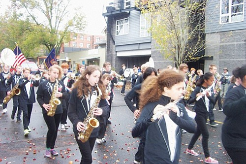 Local marching bands salute  men and women of the armed forces past and present at the annual Veterans Day Parade, returning Saturday, Nov. 11 at 9:30 a.m. to  the Hollywood district of northeast Portland.