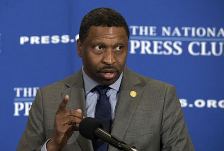 The NAACP announced plans to change their tax status, shortly after announcing that Derrick Johnson would become the group's new president. (NAACP)