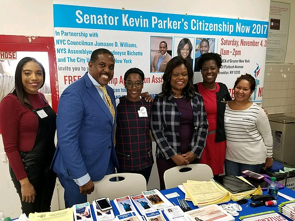 Saturday, Nov. 4, State Sen. Kevin Parker and the City University of New York held their annual CUNY Citizenship Now! ...