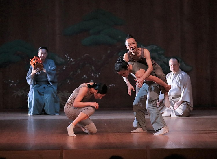 The Recent Production Of The Dance Drama At Japan Society Left Right