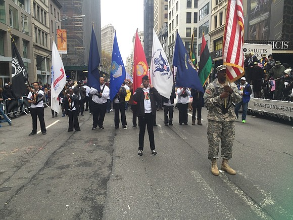 Tuesday, Oct. 31, 2017, at noon, veterans and veteran organizations gathered on the steps of New York City Hall to ...