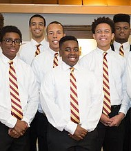 Kappa League Members of Burlington-Camden (NJ) Alumni Chapter of Kappa Alpha Psi Fraternity, Inc.