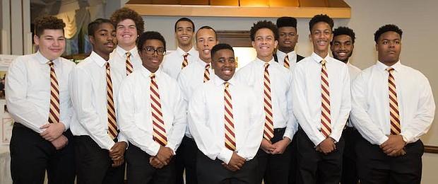 Kappa League Members of Burlington-Camden (NJ) Alumni Chapter of Kappa Alpha Psi Fraternity, Inc.