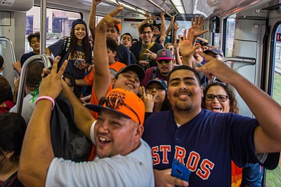 Fans who chose METRORail to get to the Astros World Series Parade set a new record for single day ridership. ...